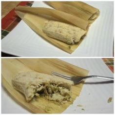 """This is a low carb guilt free Tamale made out of cauliflower """"dough""""… Low Carb Recipes, New Recipes, Holiday Recipes, Vegetarian Recipes, Cauliflower Crust Pizza, Cauliflower Recipes, Bariatric Eating, Pork Rinds, Keto Meal Plan"""