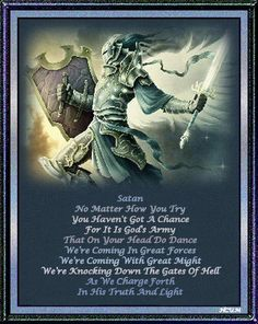 the thief comes to steal, kill & destroy, but the Blood of Jesus has already come & won the battle! He is victorious...I bow down to no one but the Lamb of God - Jesus Christ!!!