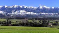 The Tararua Ranges in the Mighty Manawatu.My favourite part of new Zealand and where I grew up.