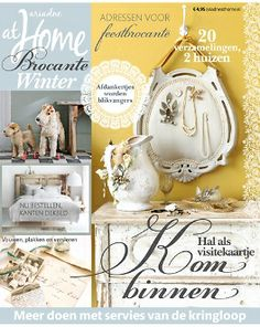 ariadne at Home Brocante winter 2013 #magazine #cover #brocante #shabby