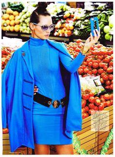 Best Versace Women's Fall Winter 14/15 Editorials