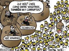 Corupcion desde el punto de vista del corrupto mayor , Un ejemplo los ERES.Spain .