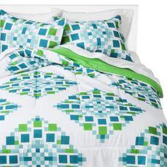 Room Essentials Pixel Medallion Comforter @ Target