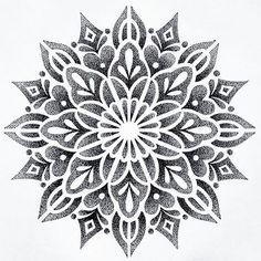 I just drew this mandala that I would like to tattoo. - I just drew this mandala that I would like to tattoo. Mandala Tattoo Design, Dotwork Tattoo Mandala, Geometric Mandala Tattoo, Tattoo Designs, Geometric Stencil, Tattoo You, Arm Tattoo, Sleeve Tattoos, Mandalas Painting