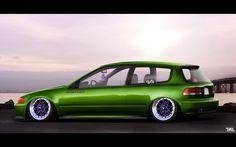 Honda Civic by Timil.deviantart.com on @deviantART