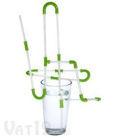 Strawz Connectible Drinking Straws