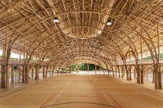 Bamboo Sports Hall For Panyaden International School - Chiang Mai
