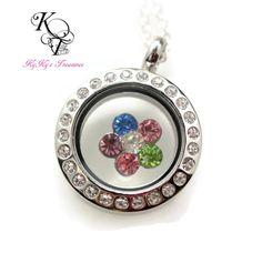 Little Girl Locket, Memory Locket, Little Girl Necklace, Girl Jewelry, Flower Necklace, Flowergirl Gift, Flower Locket #littlegirlocket #littlegirljewelry