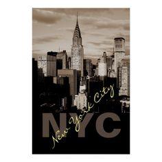 Unique Sepia New York City