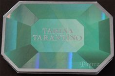 Tarina Tarantino Emerald Pretty Palette Review and swatches. Click through to read!