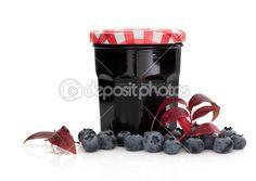 Borůvkový džem — Stock obrázek #7833957