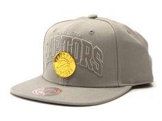 Mitchell   Ness Lux Arch Snapback Raptors - Grey   Gold – West Brothers   mitchellandness 8188bd62d65