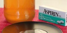 Мёдово-аспириновая мазь от боли в коленях / Будьте здоровы