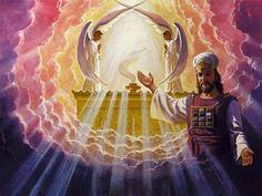 Cherubim over the Ark of the Covenant