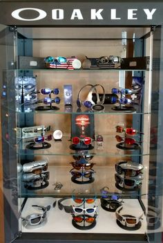 The most important part of getting an Oakley Display Case...is how you stock it! Pics: http://www.oakleyforum.com/threads/my-first-real-display-case.61622/