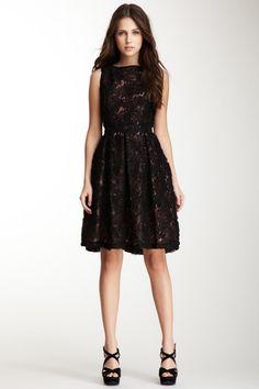 Sleeveless Novelty Lace Dress by Isaac Mizrahi on @HauteLook