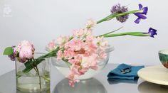 ikebana arrangement flowers