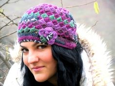 ethnic knit hat - Google Search