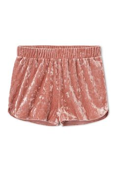 Weekday image 6 of Debrah velvet shorts in Pink Yellowish Pleated Shorts, Mini Shorts, Boho Shorts, Lace Shorts, Denim Fashion, Womens Fashion, Fashion Shorts, Drop Crotch Shorts, Velvet Shorts