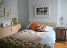 I would love this color on the walls of our bedroom.