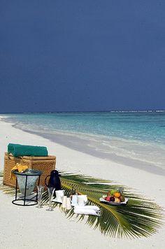 Beach Picnic at Coco Palm Resort, Maldives Beach Dinner, Beach Picnic, Beach Day, Coco Palm Dhuni Kolhu, Bora Bora, Great Places, Places To Go, Visit Maldives, Adventure Aesthetic