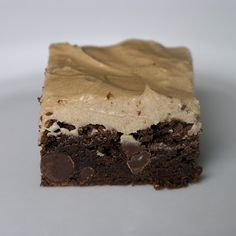 Mocha Brownie with Coffee Frosting.