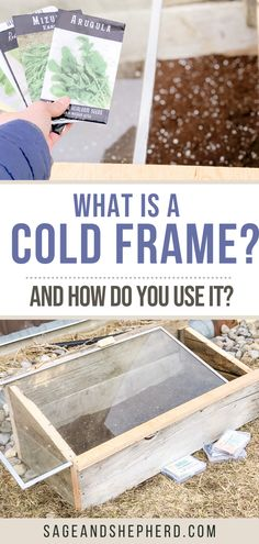 Learn everythign you need to know about cold frame gardening! Cold frame gardening allows your to extend your growing season. Starting A Vegetable Garden, Vegetable Garden For Beginners, Gardening For Beginners, Gardening Tips, Cold Frame Gardening, Does It Work, Best Seasons, Raised Garden Beds, Garden Planning