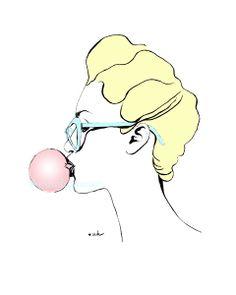 Bubble Gum / Anna Hammer