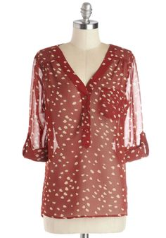 Heart to Resist Top, #ModCloth
