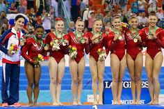 Team USA, led by Simone Biles and Kyla Ross, left no prisoners as they led their team to victory with a huge 6. Description from mcsmaria.blogspot.com. I searched for this on bing.com/images