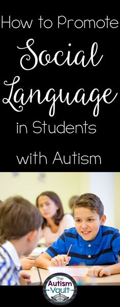 Many students with autism are not naturally reinforced by socializing with their peers. As a matter of fact, they may find socializing aversive. Read about how I work to make my students reinforcing to one another to promote social language.