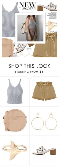 """""""New Modern"""" by soygabbie ❤ liked on Polyvore featuring BAGGU, Natasha Schweitzer and modern"""