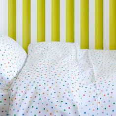 Multicolour Star Toddler Cot Bed Duvet Set