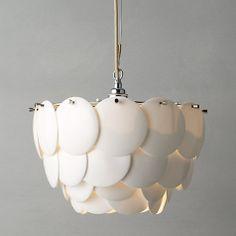 Original BTC Pembridge Ceiling Light, Size 1 28H X 34D FP440N