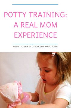 Potty training: A real mom journal experience with teaching a toddler girl to potty train. Methods, tricks and tips to toilet train your child and help them stay dry and clean! Toddler Potty Training, Toilet Training, Future Baby, Teaching Kids, Parenting Hacks, Your Child, Toddler Girl, Children, Journal