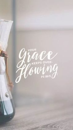 Your Grace Overflows | He Calls Me Lovely