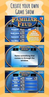Family Feud Questions Adults : family, questions, adults, Beulah, George, (josephandannie03), Profile, Pinterest