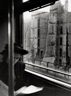In der S-Bahn in Berlin 1944-1945