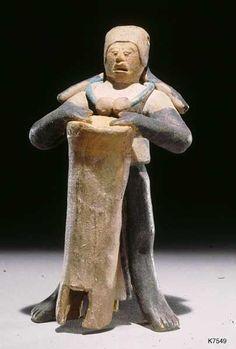 Jaina drummer. Ancient Maya (Jaina, Mexico), n.d. Ceramic