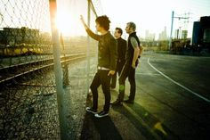 Billie Joe Armstrong  Mike Dirnt  Trè Cool   From Green Day