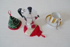 Christmas Coffe set moka cartamodello PDF  di twobusyhens su Etsy