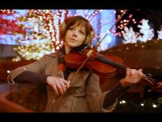 Silent Night- Lindsey Stirling, Love this individual artist and reminds me why I still want to keep up my music studies, even as just a hobby.