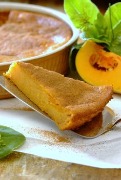 Crustless Butternut Tart: