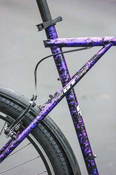 Bicycle Paint Job, Bicycle Painting, Gt Mountain Bikes, Gt Bikes, Build A Bike, Retro Bike, Motorized Bicycle, Urban Bike, Bike Art