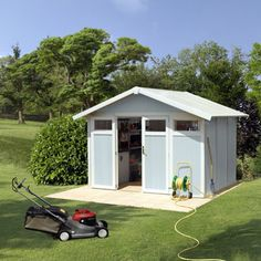 Sheds, Greenhouses, Cabins, Gazebos, Tents and Outdoor Storage at costco.co.uk, shipping and handling included.