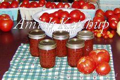 Ozark Mountain Family Homestead:  Amish Tomato Ketchup, canning