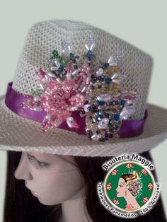 Como decorar un sombrero con tembleque - Imagui