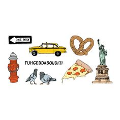 Is your student headed to NYC? How about some fun NYC temporary tattoos to send them on their way. Perfect for a small care package.