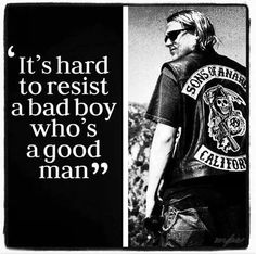 Charlie Hunnam as Jax Teller on Sons of Anarchy. And there's never been a truer quote. Serie Sons Of Anarchy, Jax Sons Of Anarchy, Anarchy Quotes, Affirmations, Charlie Hunnam Soa, Behind Blue Eyes, I Love Cinema, Hommes Sexy, Good Heart