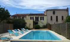 Vakantiehuis Maison Servian - Servian - Hérault Zuid Frankrijk - Privé zwembad